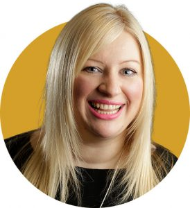 Michelle manages the office at Mearns and Company
